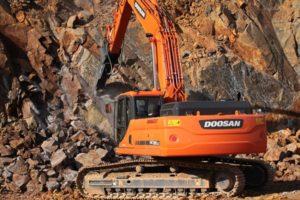 Doosan 260 – тяжелая спецтехника для работы в экстремальных условиях