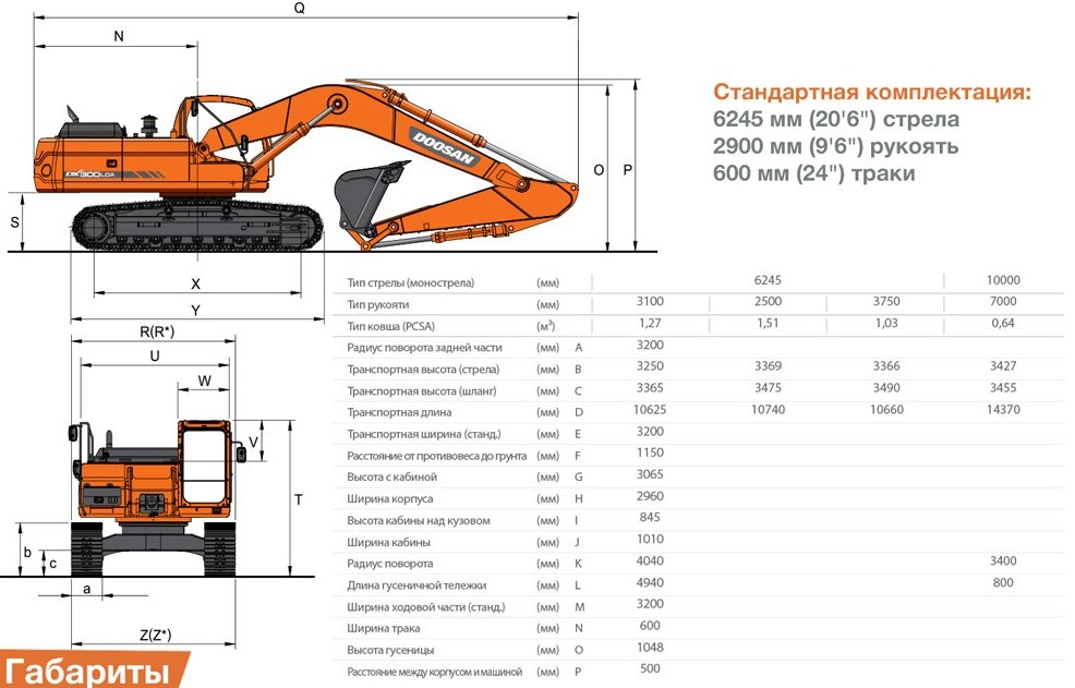 doosan-dx300lca - КУПИТЬ В КРЫМУ